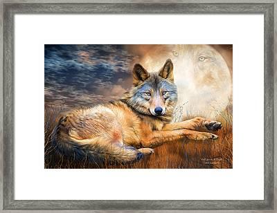 Wolf - Spirit Of Truth Framed Print