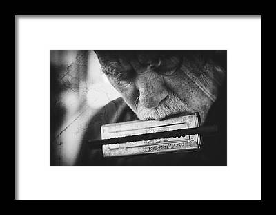 Concentration Framed Prints