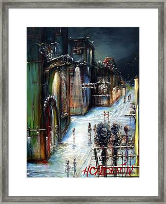 Wolfenstein Framed Print by Heather Calderon