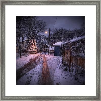 Wolseley Winter Framed Print