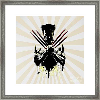 Wolverine Framed Print by Mark Ashkenazi