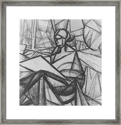Woman Framed Print by Alexander Bogomazov