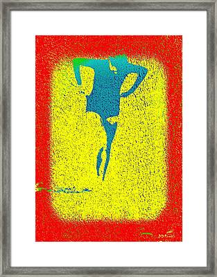 Woman Emerging -- Version I Framed Print by Brian D Meredith