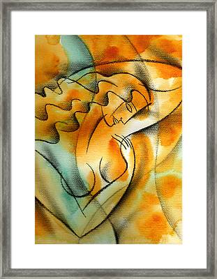 Woman Health Framed Print by Leon Zernitsky