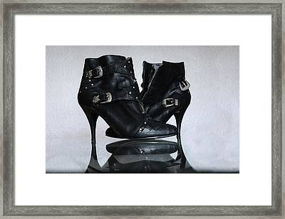 Framed Print featuring the photograph Woman In Charge by Renee Anderson