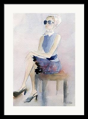 Feminine Art Framed Prints
