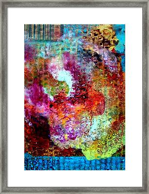 Woman In The Bath Framed Print