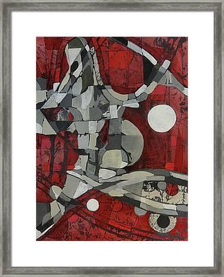 Woman Man Woman Framed Print by Mark Jordan