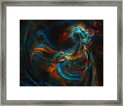 Framed Print featuring the digital art Woman Of Spirit by R Thomas Brass