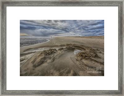 Woman Of The Sea Framed Print