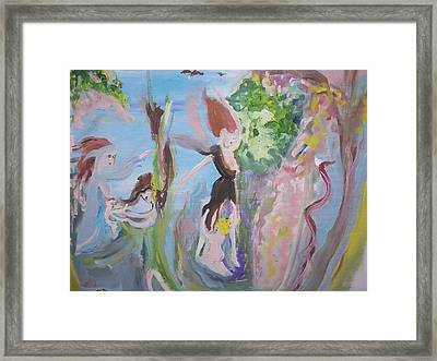 Woman The Nurturer Framed Print