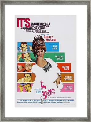 Woman Times Seven, Us Poster, Shirley Framed Print by Everett