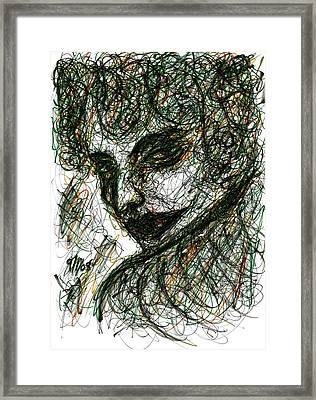 Woman's Smile Framed Print by Rachel Scott
