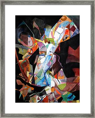 Womansong Framed Print by Rebecca Zdybel