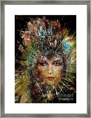 Women 377-07-13 Marucii Framed Print