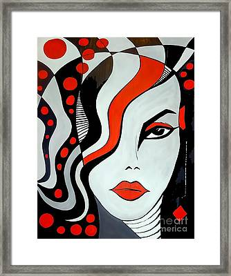 Women 452-09-13 Marucii Framed Print