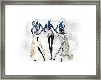 Women 501-11-13 Marucii Framed Print
