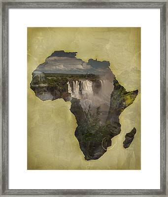 Women Of Africa Framed Print by Nichon Thorstrom