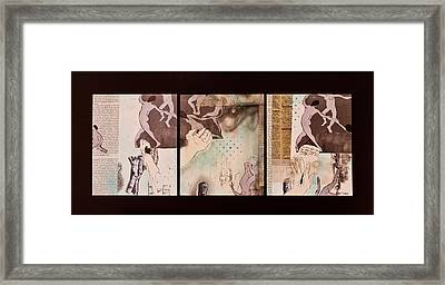Women Of The Dance Framed Print