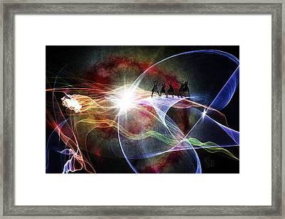 Women Power Framed Print by Reno Graf von Buckenberg