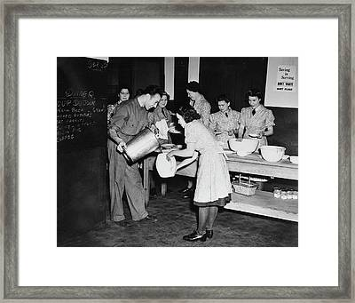 Womens Auxiliary Air Force Members Framed Print by Stocktrek Images