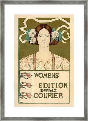 Women's Edition Buffalo Courier Framed Print by Gianfranco Weiss