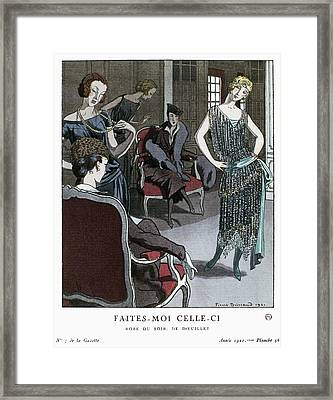 Women's Fashion, 1921 Framed Print