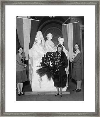 Women's Rights Memorial Framed Print