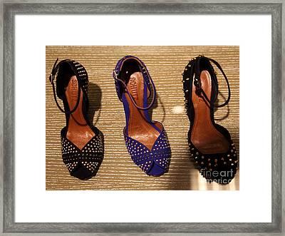 Women's Shoes - 5d20649 Framed Print