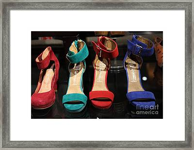Women's Shoes - 5d20650 Framed Print