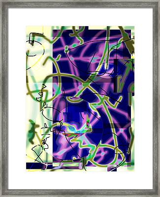 Won Chaos To Order 2013 Framed Print by James Warren