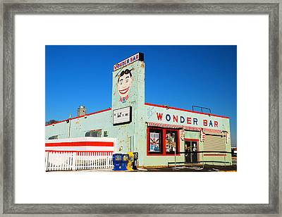 Wonder Bar Asbury Park Framed Print by James Kirkikis