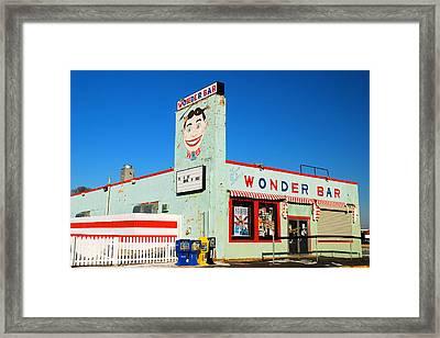 Wonder Bar Asbury Park Framed Print