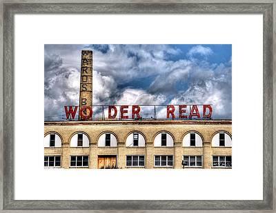 Wonder Bread Factory In Buffalo Ny Framed Print