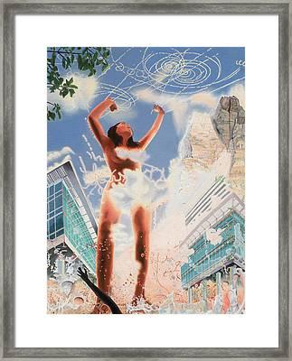 Wonder Framed Print by Dave Martsolf