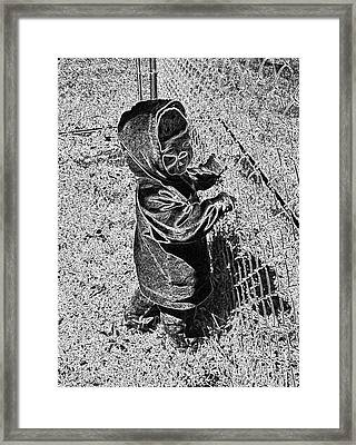Wonder For The World Framed Print by Minding My  Visions by Adri and Ray