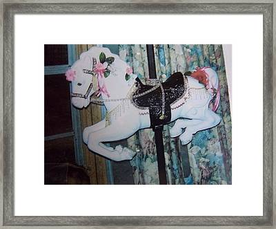 Wonder Horse Framed Print by Rosalie Klidies