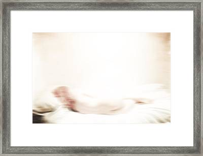 Wonder How You Sleep  Framed Print by Empty Wall