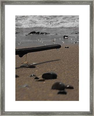 Wonder On This Beach Framed Print