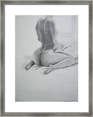Wonder Woman Framed Print by Ordette Rocque