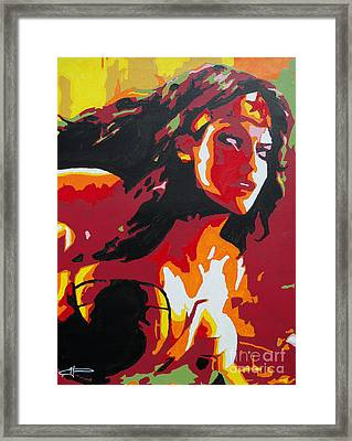 Wonder Woman - Sister Inspired Framed Print