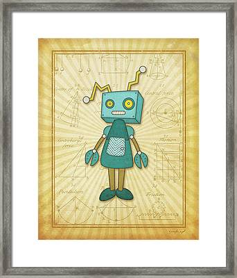 Wonderbot Framed Print