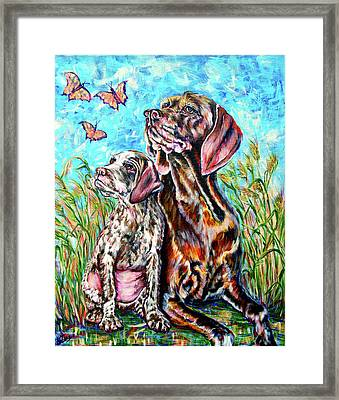 Wonderfield  Framed Print