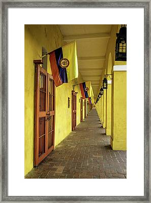 Wonderful Architecture In The San Diego Framed Print