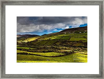 wonderful Ireland Framed Print by Juergen Klust
