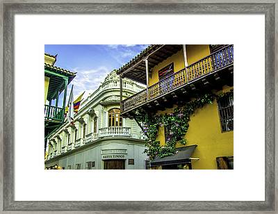 Wonderful Spanish Colonial Architecture Framed Print