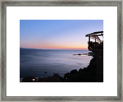 Framed Print featuring the photograph Wonderful Tonight by Andreas Thust