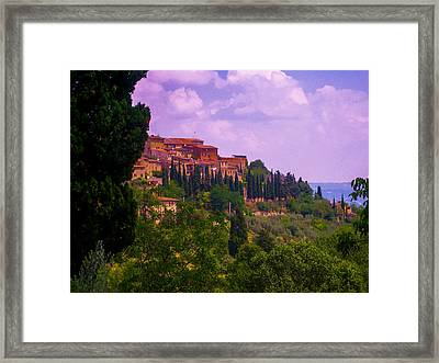 Wonderful Tuscany Framed Print