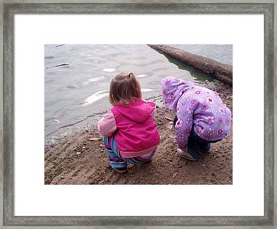 Wondering Innocence Framed Print by Fortunate Findings Shirley Dickerson