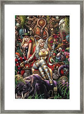 Wonderland 10a Framed Print